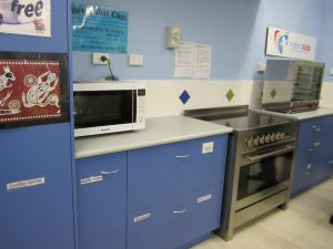 The completed kitchen at Maddington Primary School