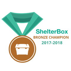 ShelterBox Bronze Champion 2017-2018